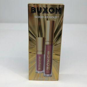Buxom good as gold plumping lip gloss duo- NIB